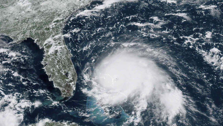 Esta imagen del 1 de septiembre de 2019 muestra al huracán Dorian en su paso por el Océano Atlántico.