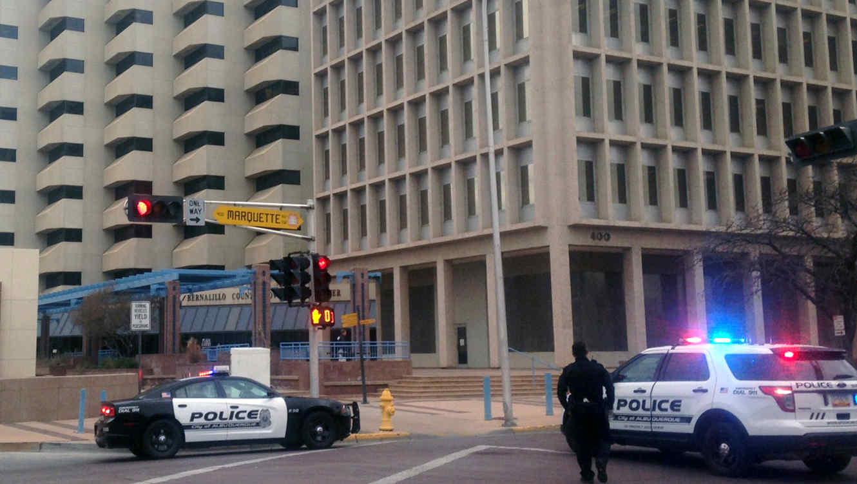 Patrullas de policia en Albuquerque, Nuevo México