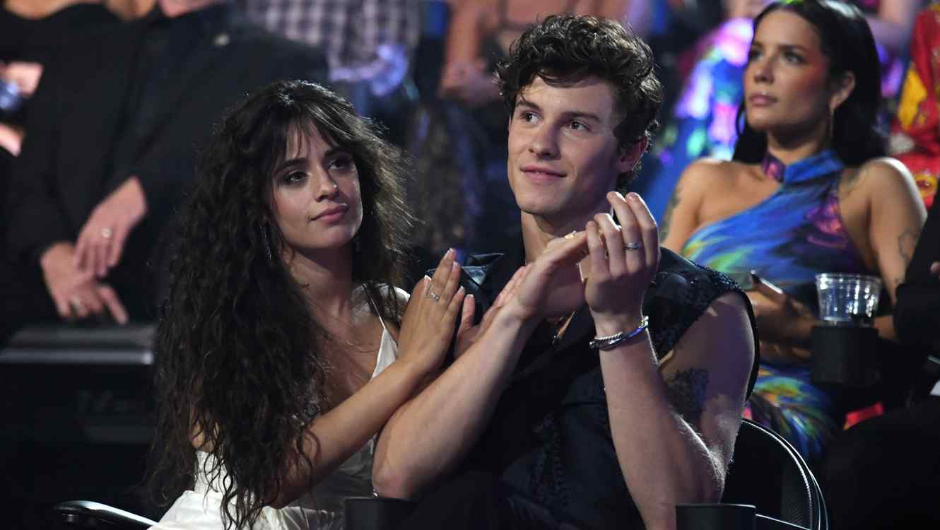 Camila Cabello and Shawn Mendes at MTV VMAs