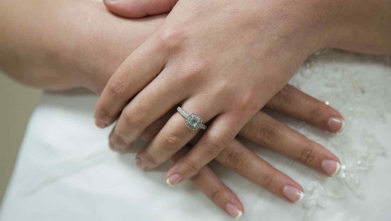 Manos de novia