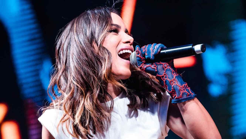 Anitta performing at Rock in Rio in Brazil