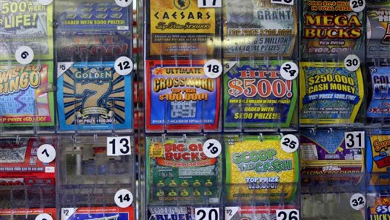 Boletos de lotería en Carolina del Norte