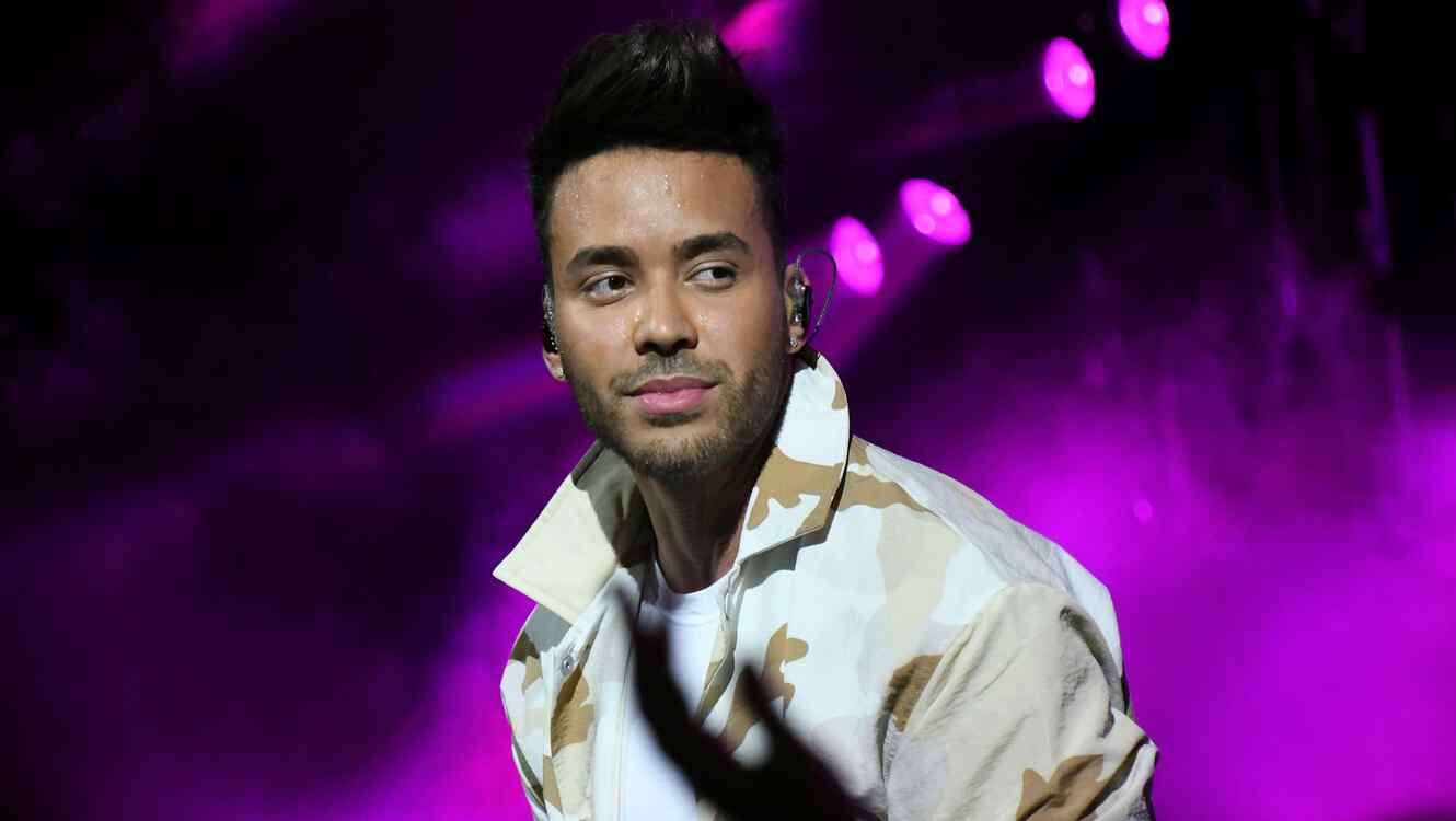 Prince Royce performs during MLS All-Star Concert