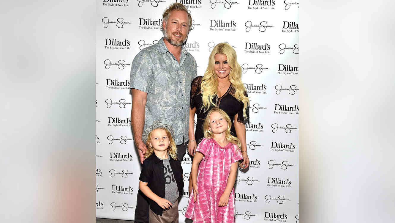 Jessica Simpson y su familia