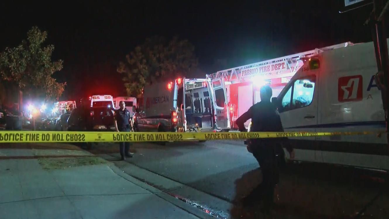 Tiroteo en Fresno deja al menos cuatro muertos y diez heridos