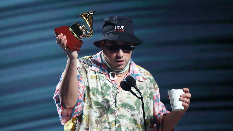 Bad Bunny at the Latin Grammys