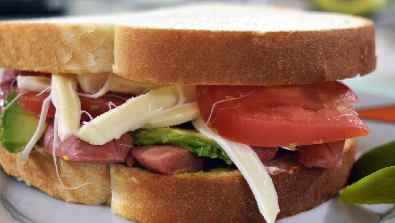 Sándwich.