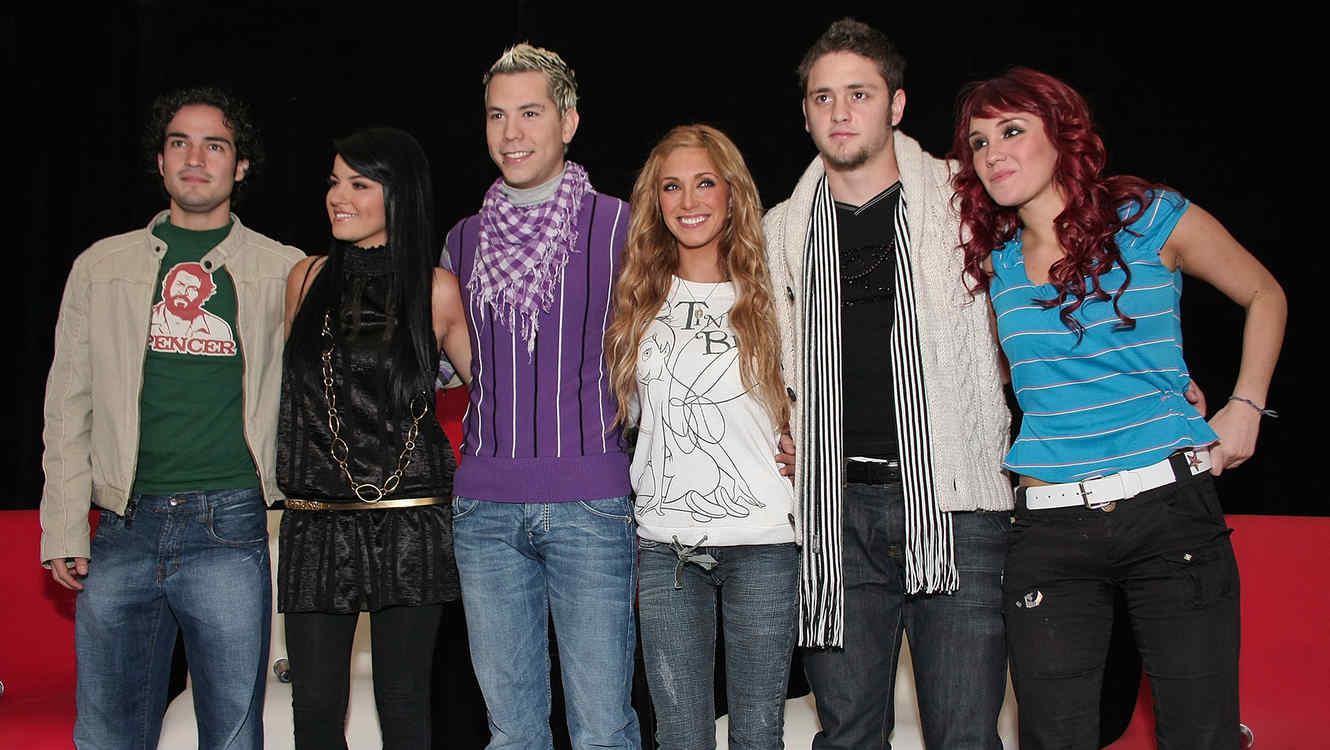 RBD Press Conference in Mexico City