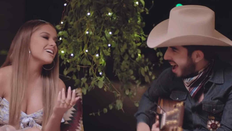 Becky G and Joss Favela in music video