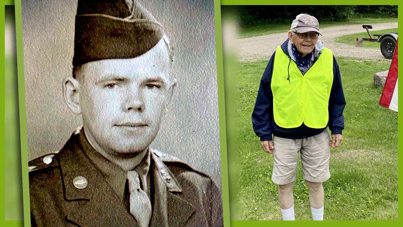Veterano 100 millas cumpleaños 100