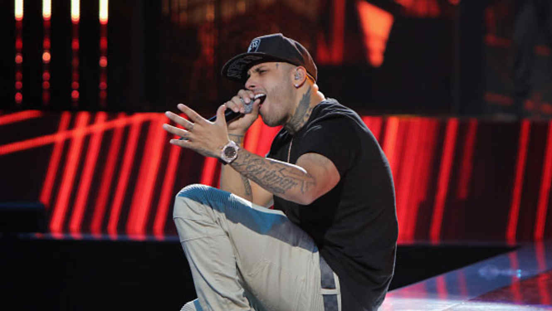 Nicky Jam en los Latin Billboards 2015