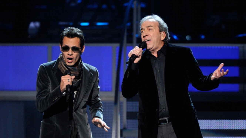 José Luis Perales y Marc Anthony en los Latin GRAMMY