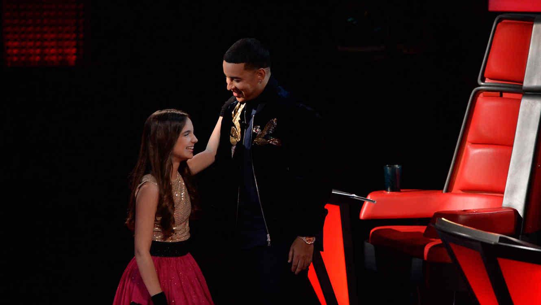 Valeria Jauregui Daddy Yankee en la tercera ronda de batallas de La Voz Kids