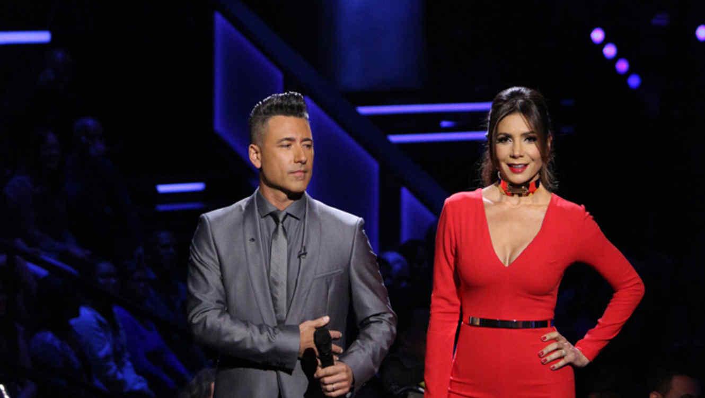 Jorge Bernal y Patricia Manterola en la segunda gala de La Voz Kids