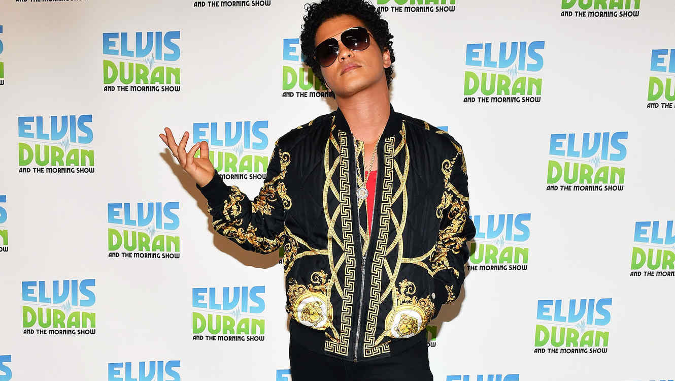 "Bruno Mars Visits ""The Elvis Duran Z100 Morning Show"""