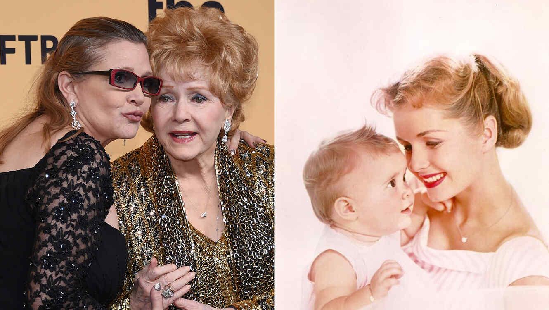 Las fotos más tiernas de Debbie Reynolds y Carrie Fisher