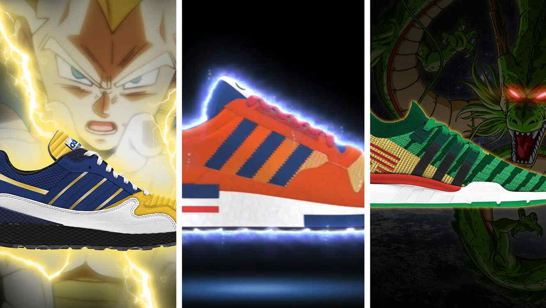 Así lucen los 8 modelos de zapatillas de Dragon Ball de