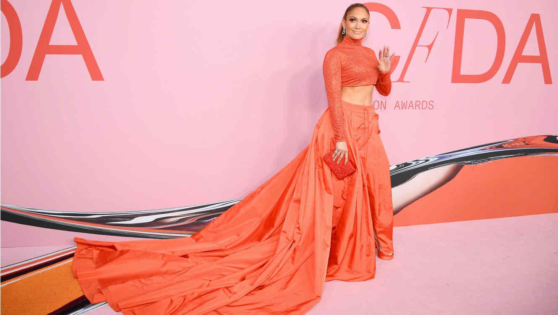 Jennifer Lopez en los CFDA Fashion Awards 2019
