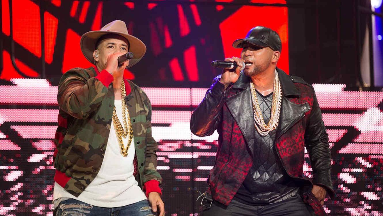 Daddy Yankee y Don Omar en el Coliseo de Puerto Rico