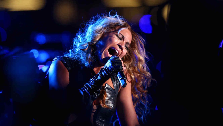 Beyonce en el Super Bowl XLVII