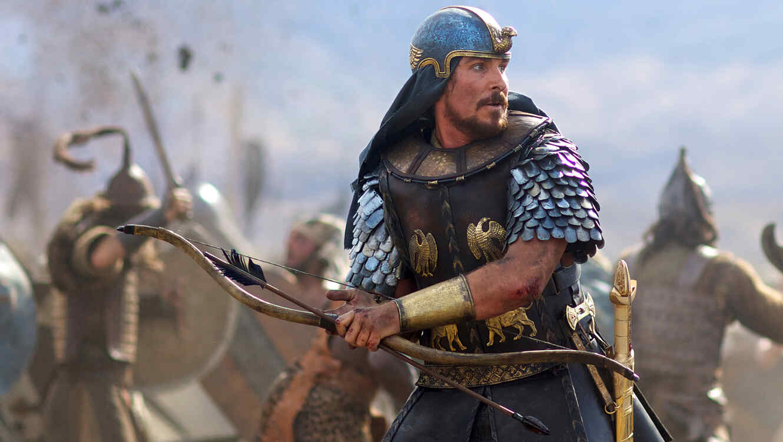 Christian Bale en EXODUS: GODS AND KINGS