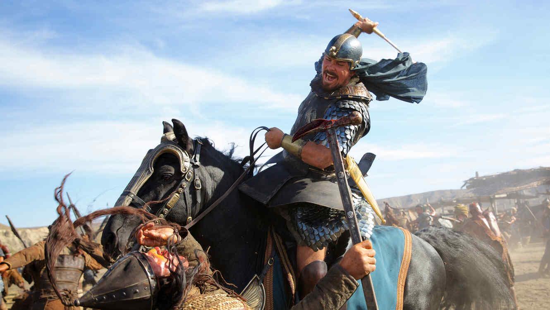 "Christian Bale en una escena de ""Exodus: Gods and Kings"""