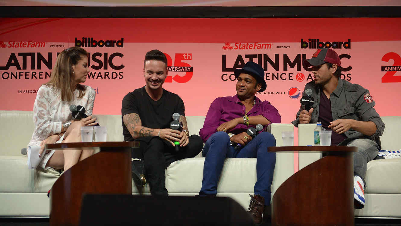 Enrique Iglesias & Pitbull Announce Fall Tour And J Balvin As Support