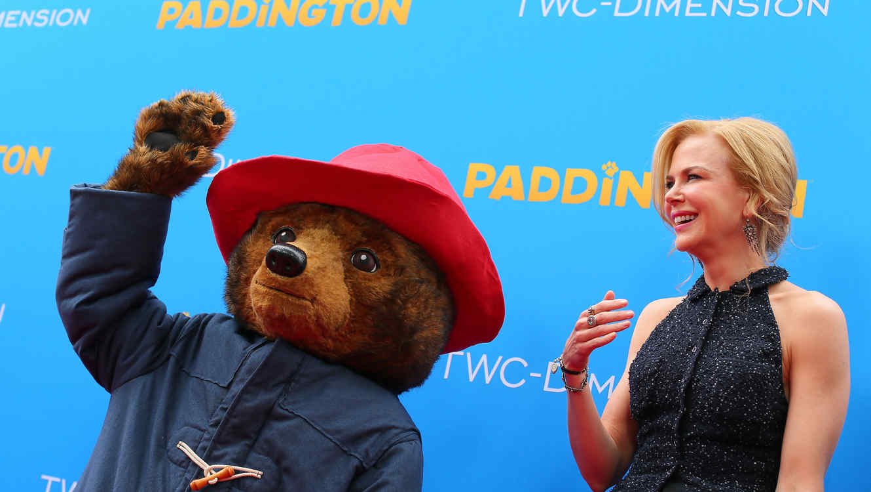 Nicole Kidman y el oso Paddington