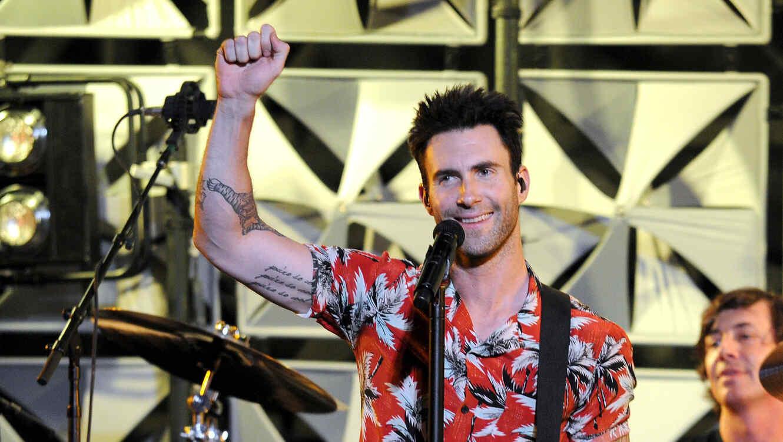 Adam Levine y Maroon 5 en el Amex Every Day Live en New York