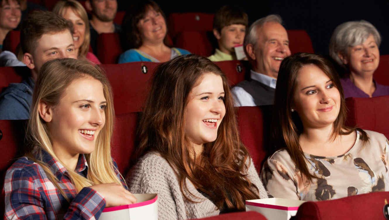 Adolescentes en el cine