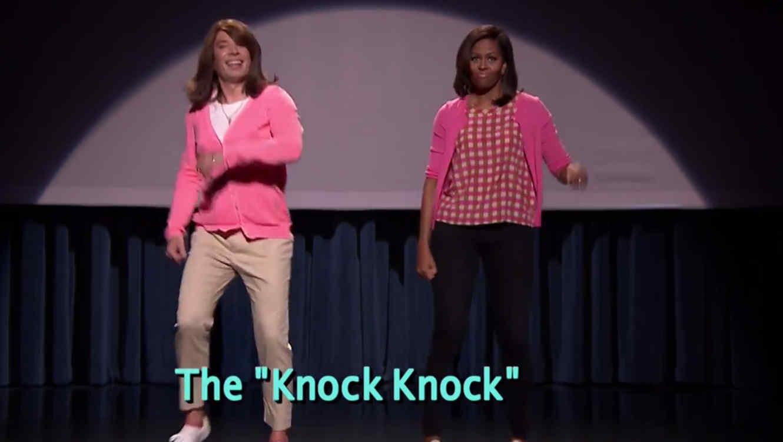 """Michelle Obama y Jimmy Fallon en la segunda parte de """"Mom Dancing"""""""