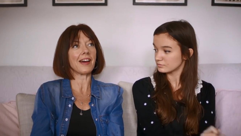 "Entrevista con madre e hija para campaña ""choose beautiful"" de Dove"