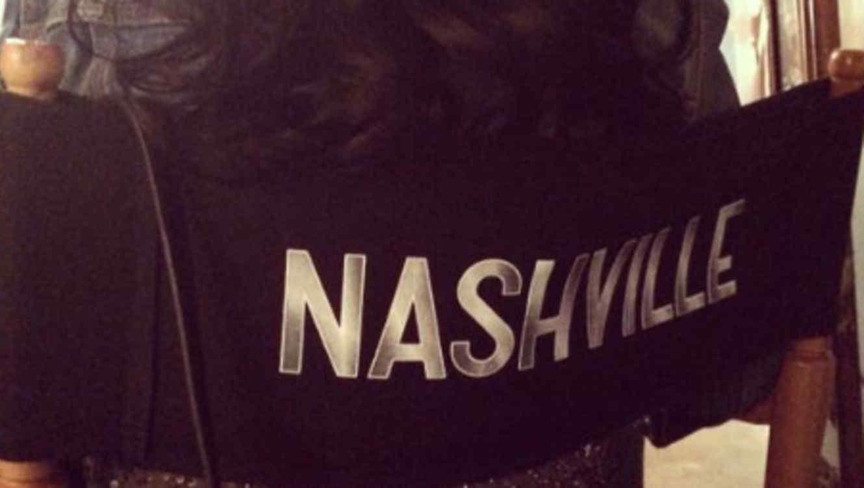 Christina Aguilera en la silla de 'Nashville'