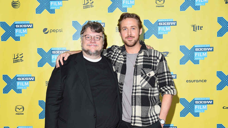 Ryan Goslin y Guillermo del Toro en SXSW 2015