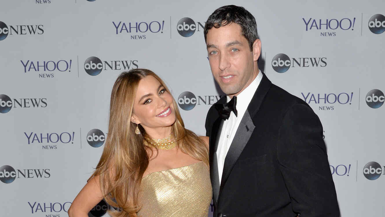Sofía Vergara y Nick Loeb en la cena de Yahoo News/ABC News en la Casa Blanca