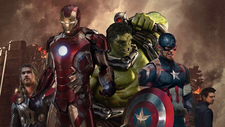 "Foto de la película ""Avengers: Age of Ultron""."