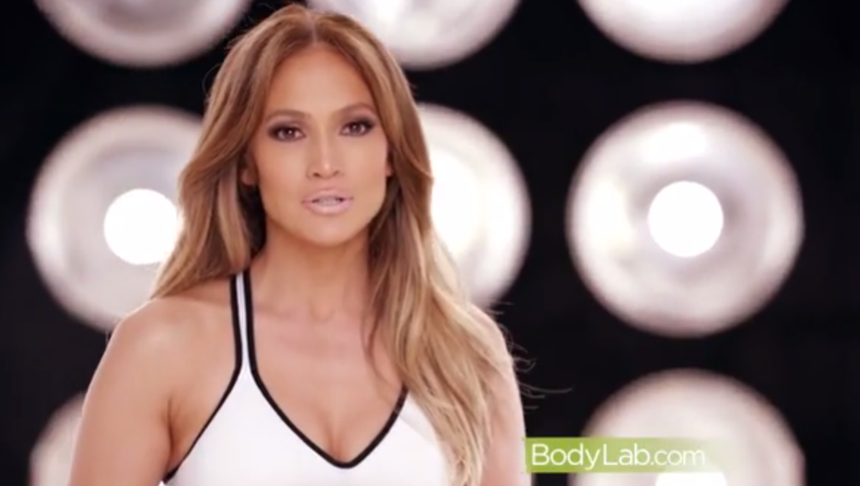 """Jennifer Lopez en su reto """"Be The Girl"""""""