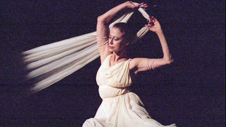 "Maya Plisetskaya bailando ""Isadora Duncan"" en Ucrania"