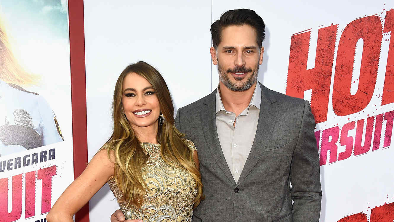 Sofía Vergara y Joe Manganiello en el estreno de 'Hot Pursuit' en California