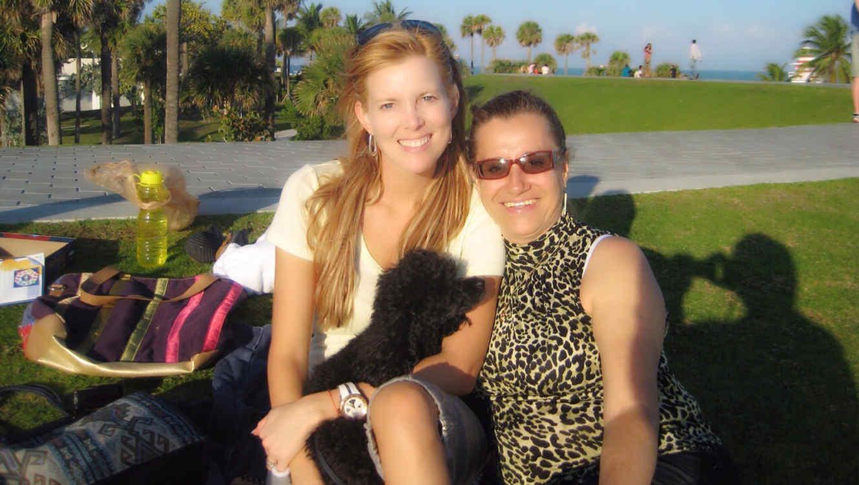 maritza rodriguez con su madre