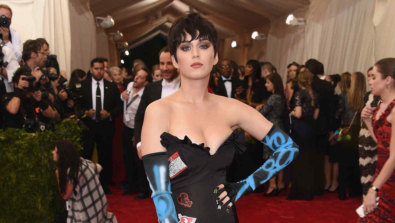 Katy Perry en el MET gala de 2015