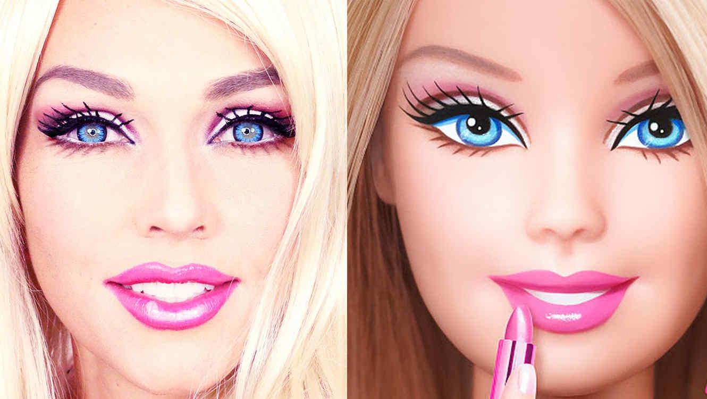 VIDEO VIRAL: La maquilladora Kandee Johnson se convierte en una Barbie en sólo minutos