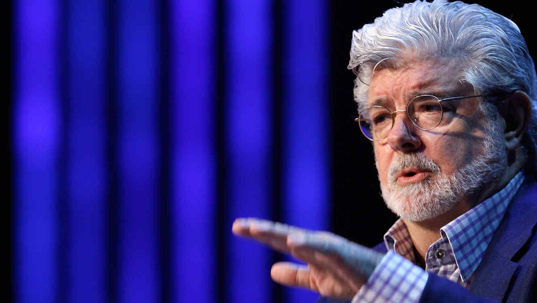 """George Lucas, el creador de """"Star Wars"""""""