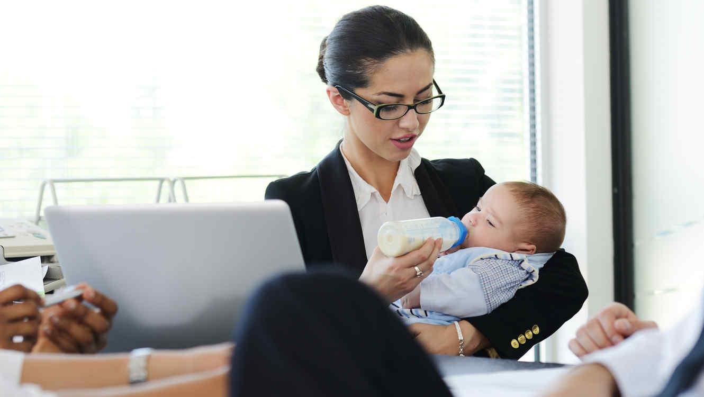 ef774e5e1 Estudio revela que el 23% de mujeres regresa al trabajo dos semanas ...