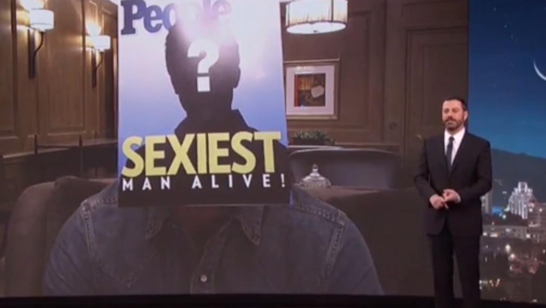 Sexiest Man Alive 2015, Jimmy Kimmel