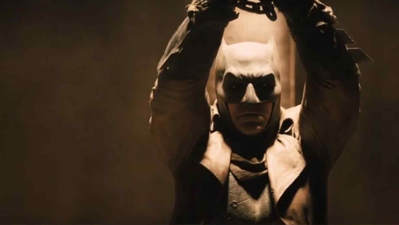 """Foto de Ben Affleck """"Batman v Superman: Dawn of Justice""""."""