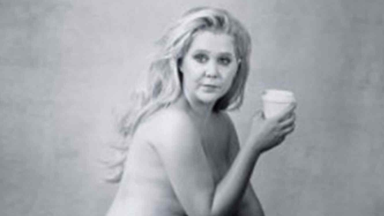 Amy Schumer publicó una foto desnuda en Instagram