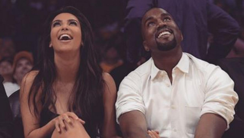 Kim Kardashian y Kanye West, Instagram