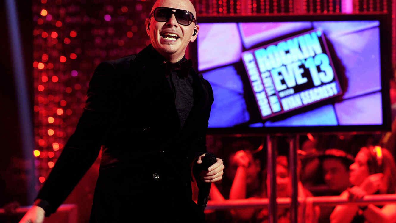 Pitbull - Dick Clark's New Year's Rockin' Eve With Ryan Seacrest 2013