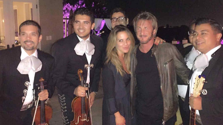 Foto publicada por Kate del Castillo en su cuenta de Instagram junto al actor Sean Penn